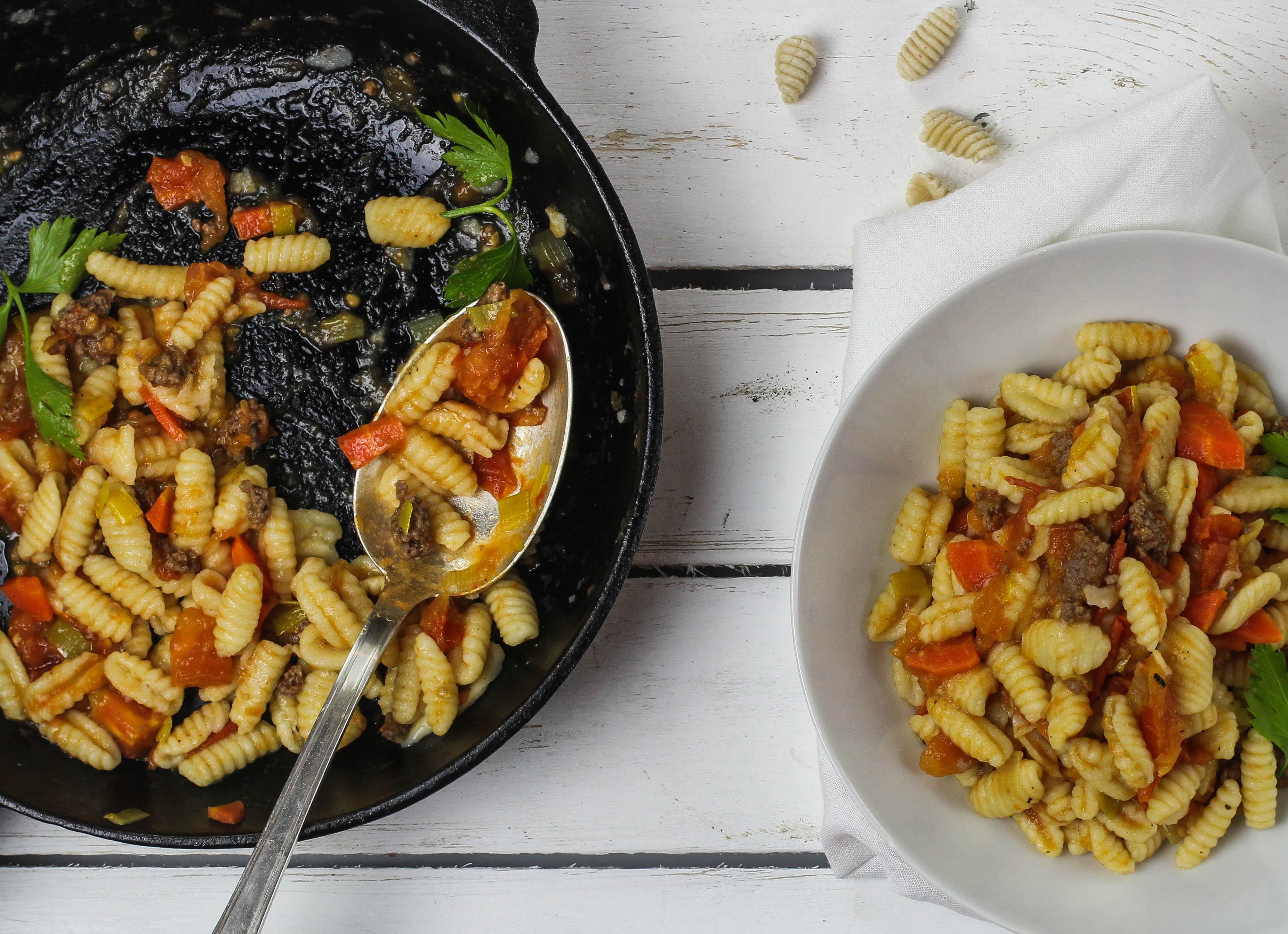 Malloreddus mit Salsiccia